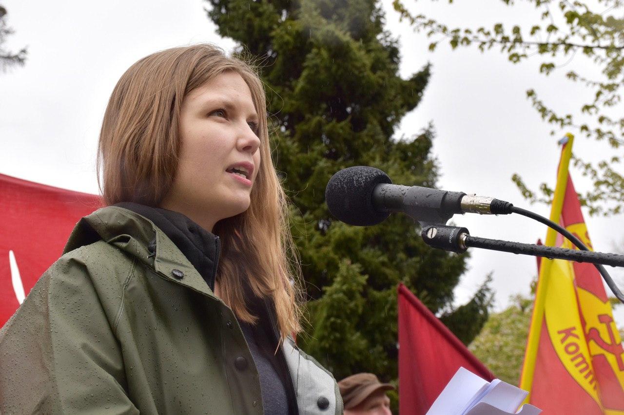 Nadja Lundberg, förbundssekreterare RKU