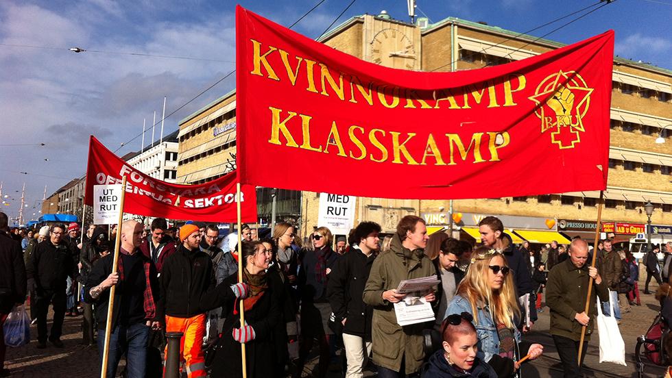8 mars i Göteborg