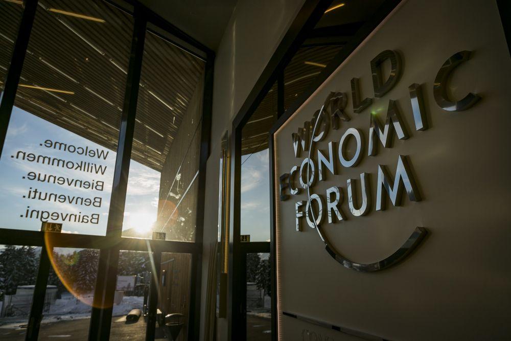 World Economic Forum i Davos, samlingsplats för kapitalistiska politiker och andra beslutsfattare
