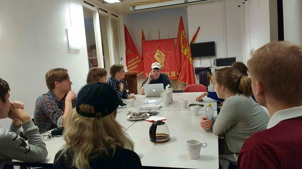 Studiecirkel hos RKU-Stockholm